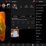 Instagram lanza su modo oscuro en la versión beta